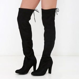 Gorgeous Steve Madden Over The Heel Heeled Boots